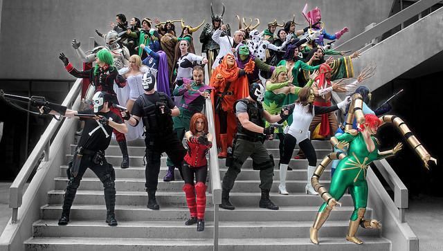 Marvel Villainy by greyloch / CC BY-SA 2.0
